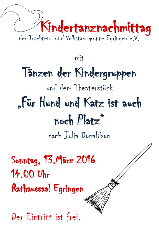 Kindertanznachmittag 2016